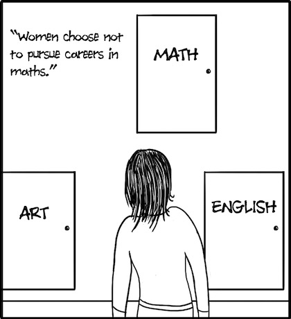 Women Choosing Math
