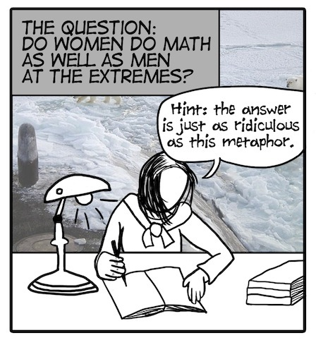 Women Mathematizing at the Extremes