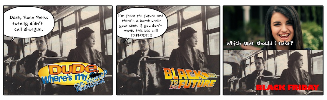 Rejected Pitches for the Rosa Parks Biopic